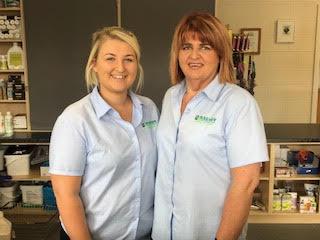 Jill Pinkerton & Florence McCrea - Strabane Branch Receptionists